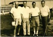Marcel Bourdages au Golf d'un Country Club à Lachute